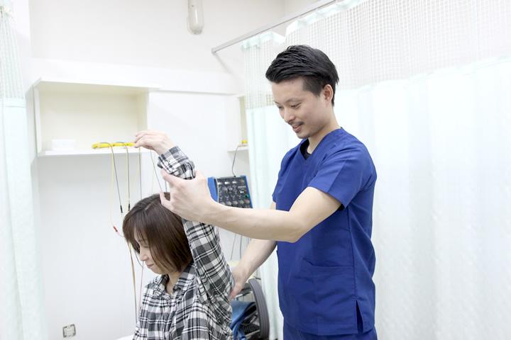 四十肩・五十肩治療なら地域口コミNo1えだ鍼灸整骨院・整体院