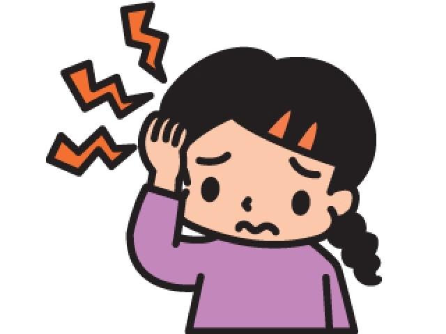 偏頭痛(片頭痛)で頭が痛い