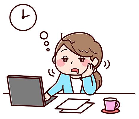 寝不足やストレスで自律神経が乱れる