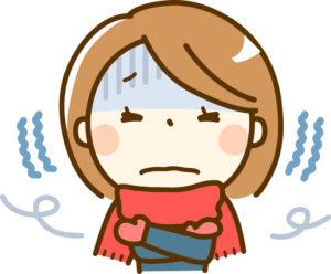 寒い冬に肩こりが起きる、お灸で温めて改善
